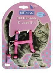 Harnais pour chat - Hariet et Rosie Kitty & Co