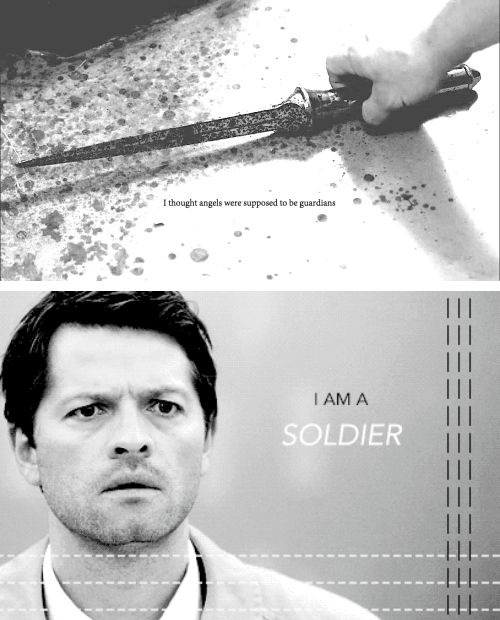 how to speak fangirl castiel soldier