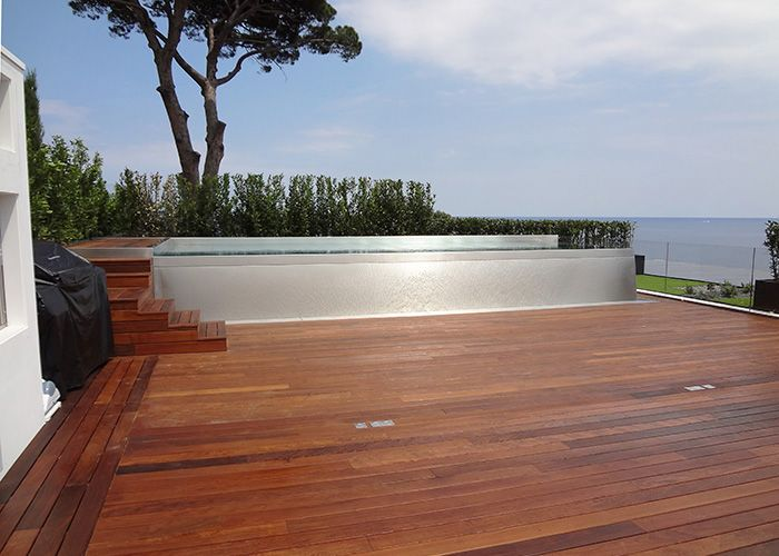 8 best piscine inox sur toit-terrasse images on Pinterest Swimming - piscine en bloc a bancher
