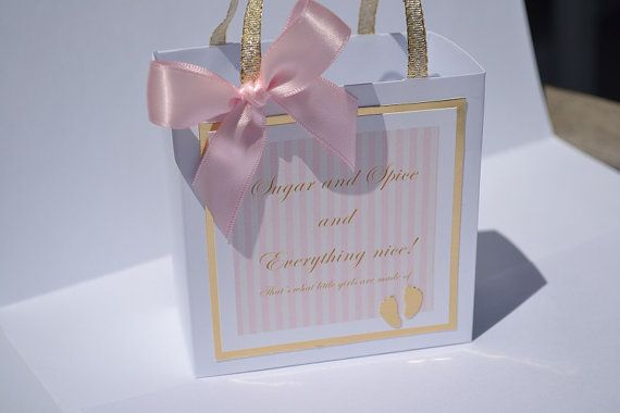 25 Best Baby Shower Favor Bags Images On Pinterest Baby Shower