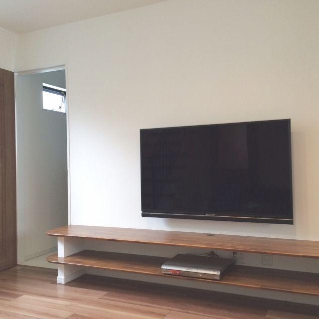 壁掛けテレビ/テレビボード…などのインテリア実例 - 2015-07-10 16:13:35