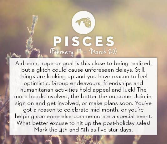 January horoscopes 2014