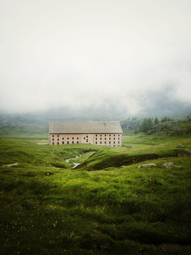 The Simplon Hospice, located in the Swiss Alps, was originally built for Napoleon's army.