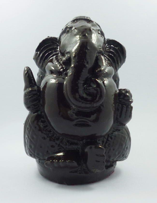 Thailand Ganesha Statue Sculpture Figure Black by AmuletSiam on Etsy