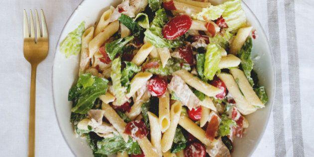 La salade «Club Sandwich» du livre Famille futée 2