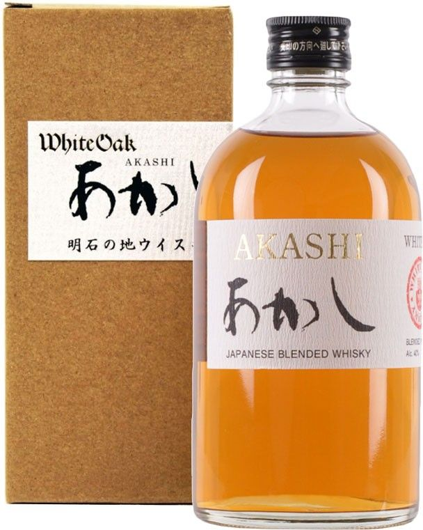 Akashi White Oak Japanese Whisky. This Japanese whisky, which was just recently released in the U.S., comes from the country's smallest #whisky distillery.   @Caskers