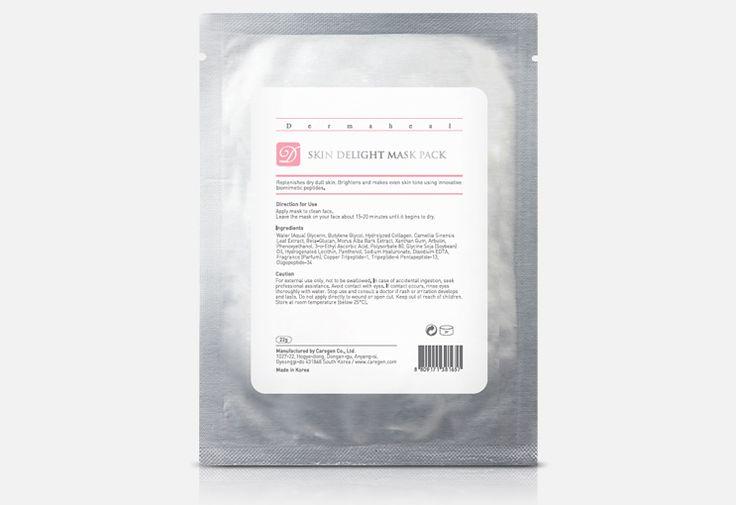 Dermaheal Skin Delight Mask Pack 22g repone tú piel seca y sin brillo con efectos despigmentantes. Bloquea la síntesis de la melanina que permite reducir las zonas más oscuras de tú piel, dándote un aspecto más suave y flexible, haciéndote sentir fresca