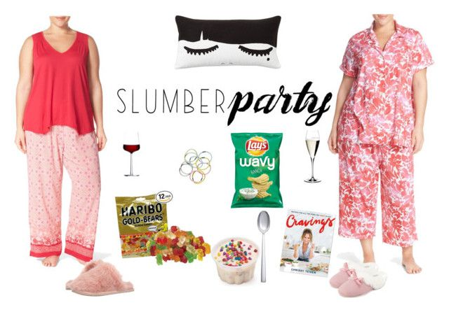 """Slumber Party"" by cindierickson on Polyvore featuring Lauren Ralph Lauren, Oscar de la Renta, PBteen, Sur La Table, Riedel, iittala, Monki, Ted Baker, Patricia Green and John Lewis"