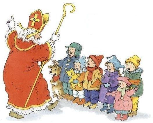 Sinterklaas en zingende kinderen, Het Sinterklaasboek voor peuters en kleuters, auteur :  R. Schroder, co-auteur : Ron Schröder, illustrator : Dagmar Stam