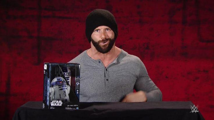 "Hasbro Smart R2-D2 ""Star Wars"" unboxing with Zack Ryder - http://www.truesportsfan.com/hasbro-smart-r2-d2-star-wars-unboxing-with-zack-ryder/"