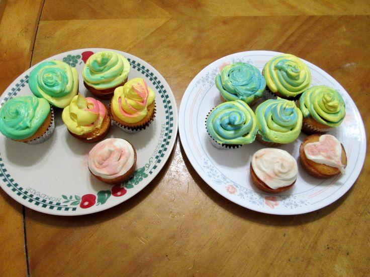 Unique Geek: Tie-Dye Cupcake Recipe