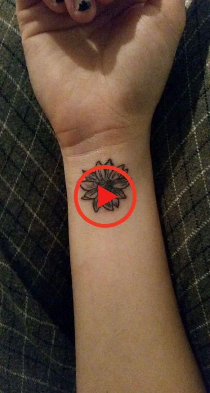 Impressive Black And White Sunflower Tattoo Ideas07 in ...