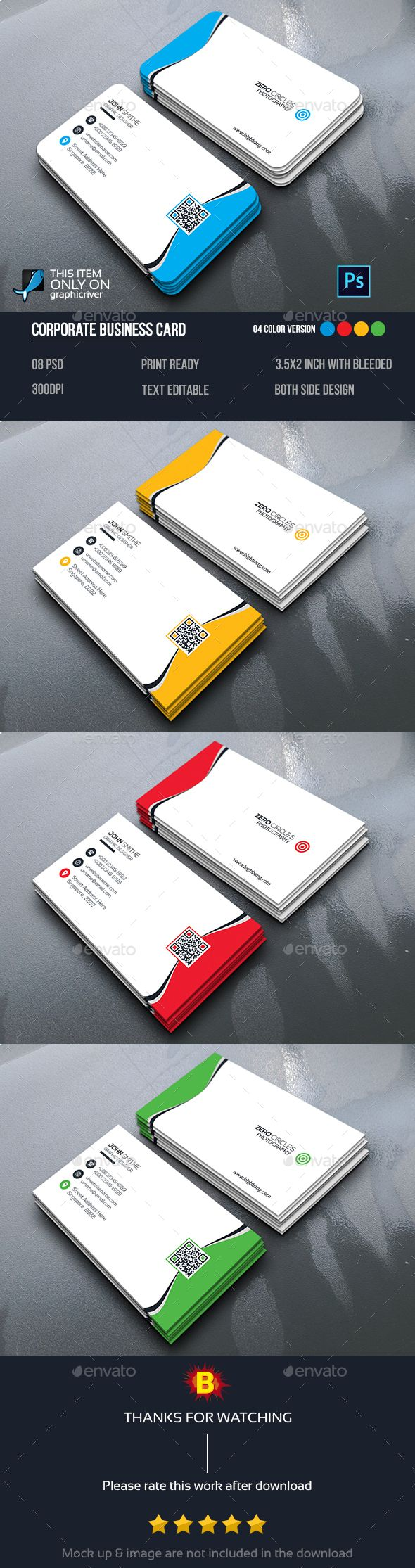 165 best photography business card images on pinterest photography photography business card by bigbbang reheart Image collections