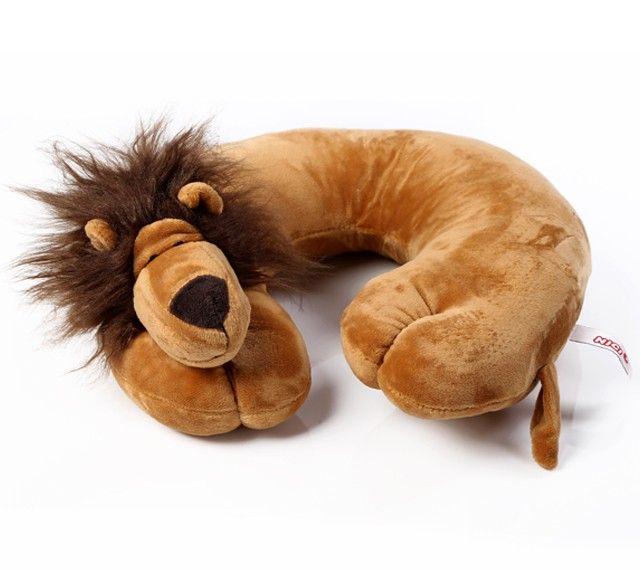 Neck Support Pillow -Lion