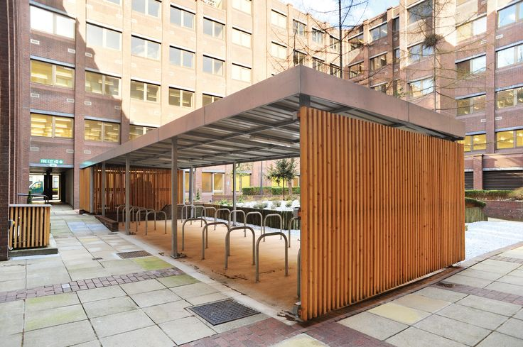 Cycle Shelter & Bin Store | George House  | Broxap
