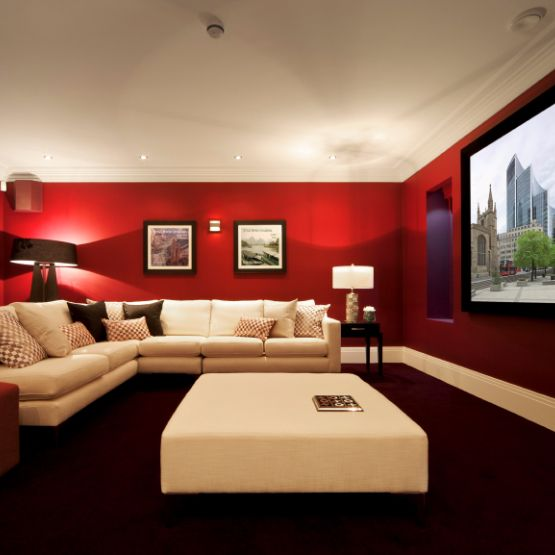 Best Home Theaters Images On Pinterest Media Rooms Media - Awesome media room designs