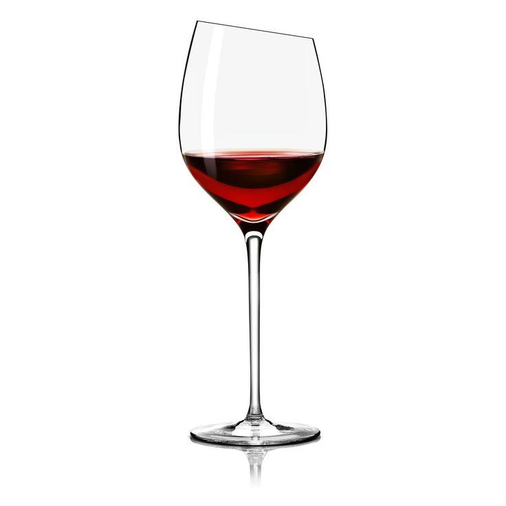 Bordeaux vinglass fra Eva Solo. Utformet for vin gjort av Cabernet Sauvignon, merlot og andre druer ...