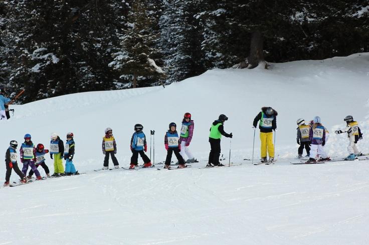 Ski les krijgen in Oostenrijk