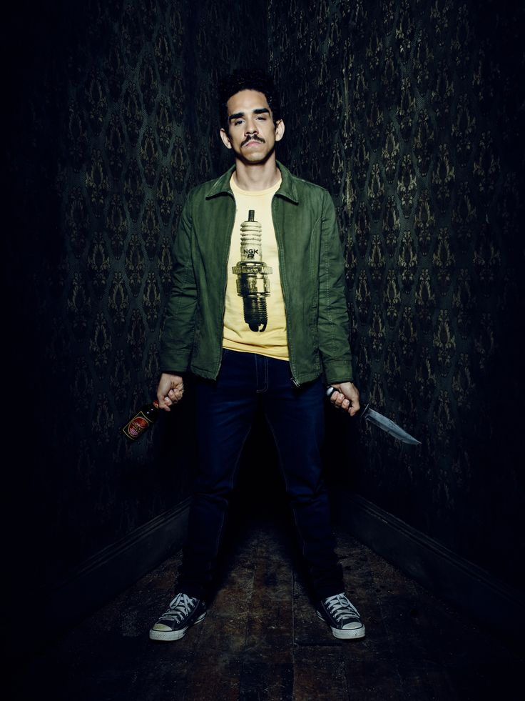 "Ash vs. Evil Dead S1 Ray Santiago as ""Pablo Simon Bolivar"""