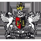 Exeter City Football Club - Division 2 Football at St James Park in the centre of Exeter.