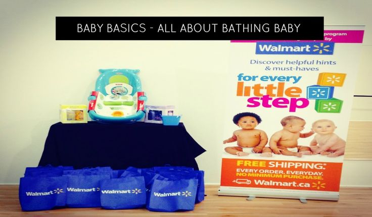 Baby Basics - Let's talk about bathing baby!