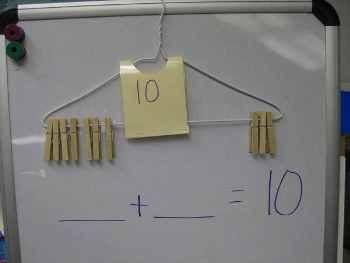 Cómo enseñar las operaciones matemáticas con un sencillo recurso casero