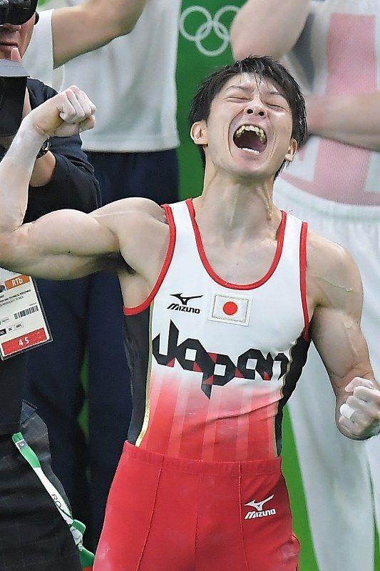 体操男子個人総合で金メダルを獲得し 2 連覇を果たした内村航平選手!強い!リオデジャネイロオリンピック・リオ五輪 2016