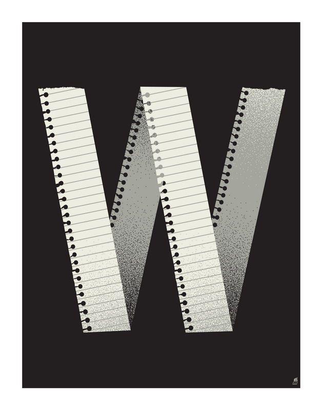 Letter W by Methane Studios