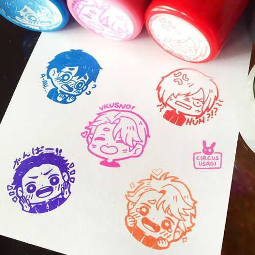 The product Yuri on ice stamps is sold by whiterabbitcafe in our Tictail store.  Tictail lets you create a beautiful online store for free - tictail.com