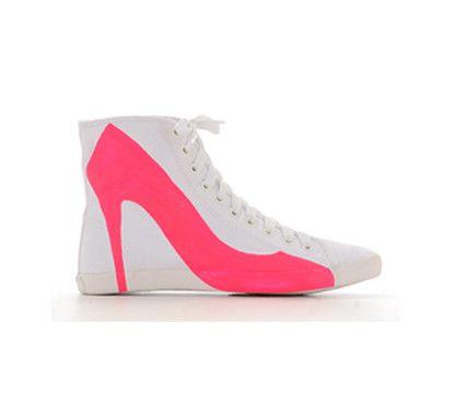 Big City Sneaker Neon pink