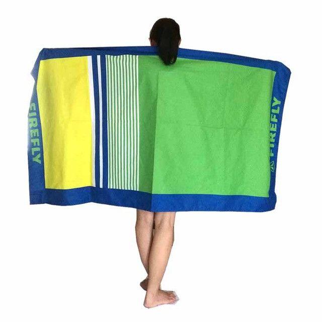 Large Beach towel Microfiber 90cm*170cm antibacterial quick dry Yoga Mat Lightweight compact