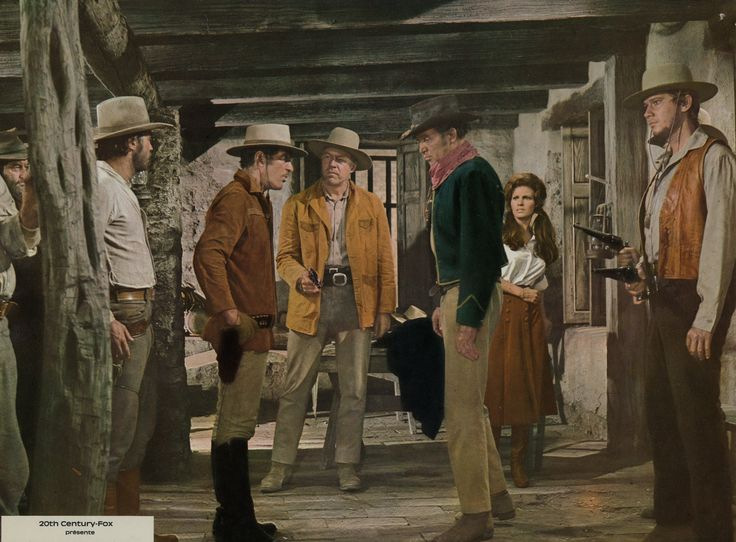 dean martin bandolero photos | Dean Martin, George Kennedy, James Stewart, Raquel Welch