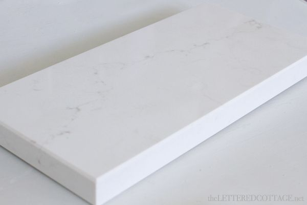 Caesarstone frosty carrina countertops bathrooms for How to care for carrara marble countertops