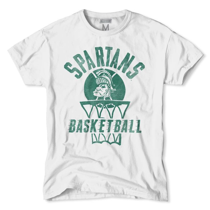 Michigan State Spartans Basketball T-Shirt