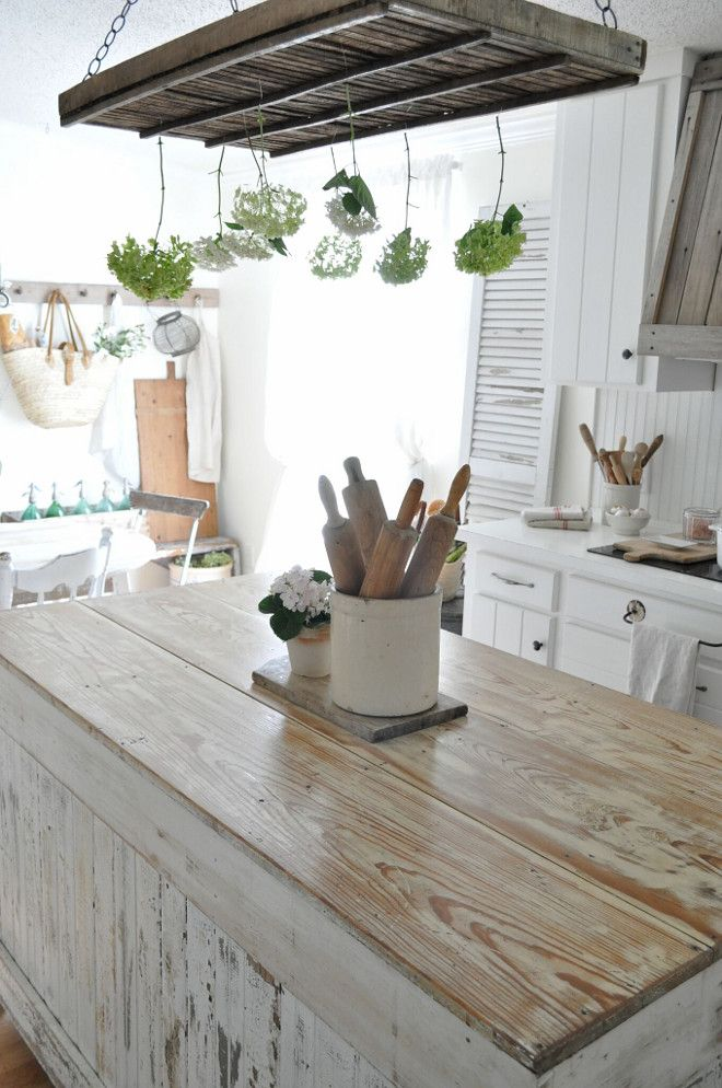 25 Great Ideas About White Distressed Cabinets On Pinterest Distressed Kitchen Cabinets