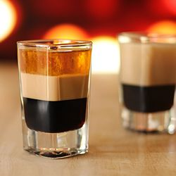 B-52 Layered Cocktail Shooters all around!!! This is a classic with tons of variations listed, what's your favorite?  WJS