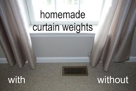 Robin Kramer Writes: Homemade Curtain Weights (what Post-It notes, pennies, and paperclips can do)
