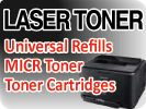 Laser Toner - cartridges and refill kits