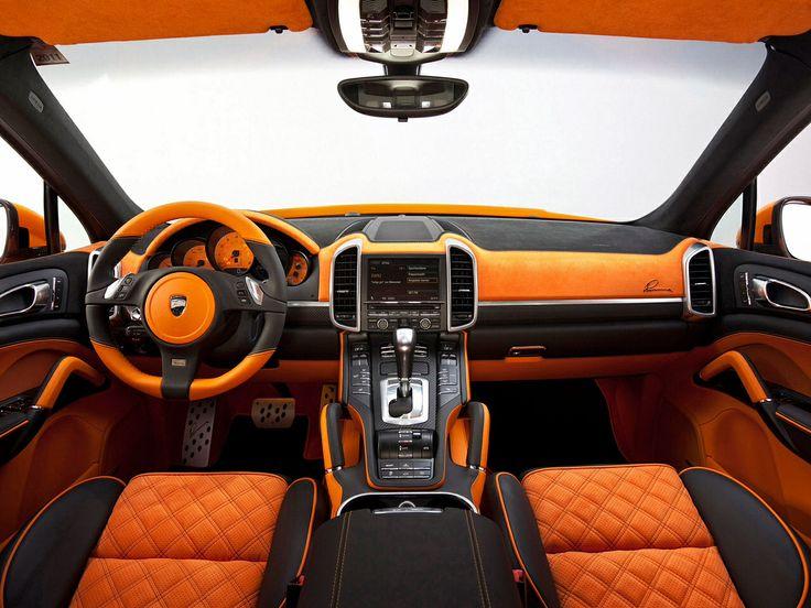 All Black Porsche Panamera S with Orange Black Interior Rides
