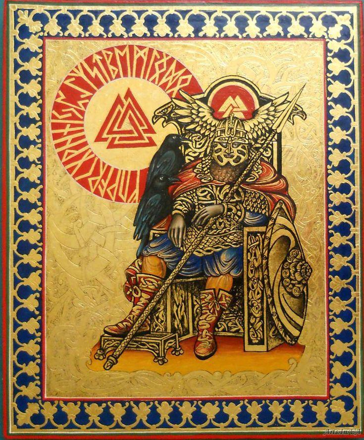 Один.Германо-скандинавская мифология.Работа на заказ - Берзина Александра
