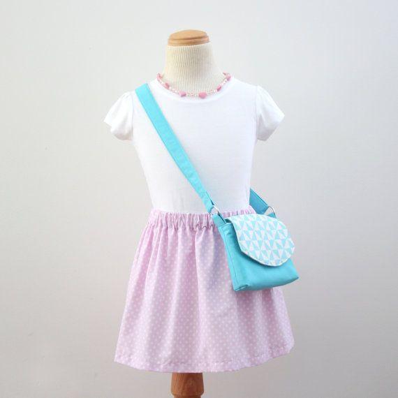 Little Girls Bag / Crossbody Bag / Handbag / by VickiElleHandmade