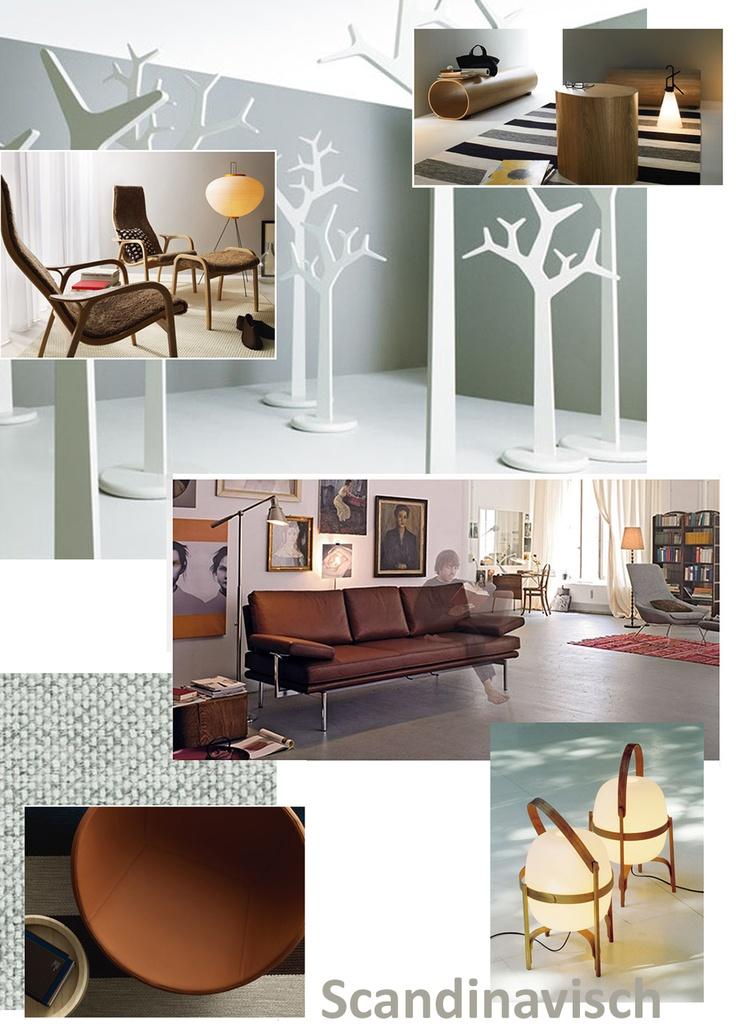 Hanneke Huisman interieurs moodboard of Scandinavian living.
