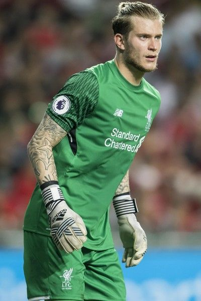 Liverpool FC goalkeeper Loris Karius looks on during the Premier League Asia Trophy match between Liverpool FC and Leicester City FC at Hong Kong Stadium on July 22, 2017 in Hong Kong, Hong Kong.