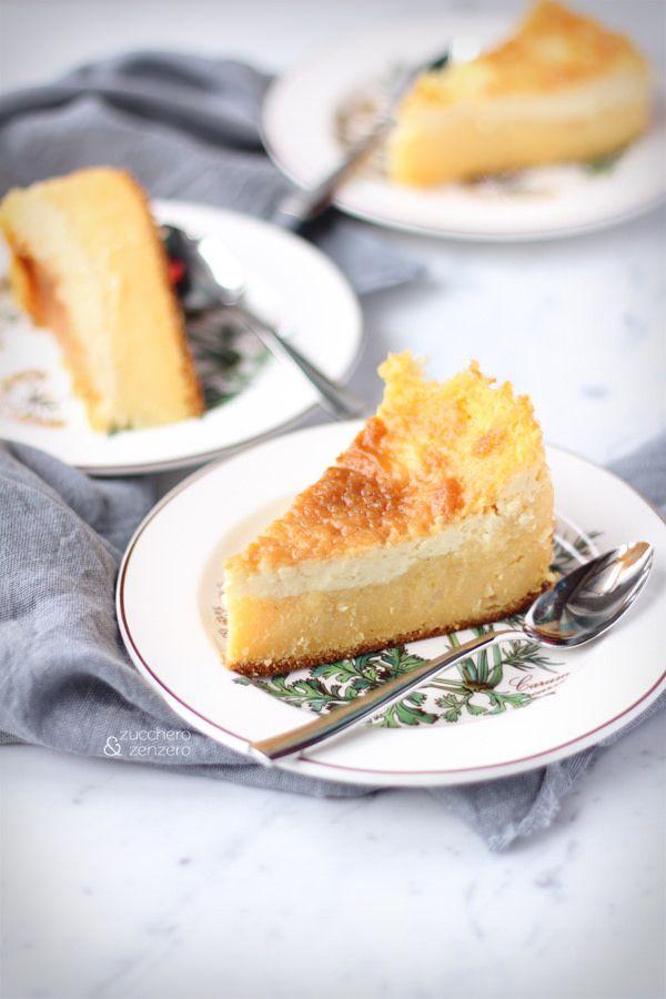 Torta (magica) di farina gialla - latte farina di mais zucchero ecc
