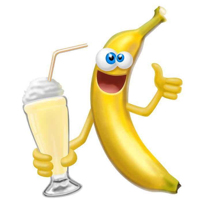 Веселый банан картинки для детей, открытка