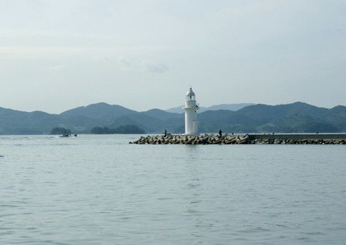Lighthouses of South Korea: Sacheon and Namhae Area, Sinhyang