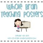 FREE Whole Brain Teaching Posters with Clip Art ~ These Whole Brain Teaching posters include clip art and have different color fonts. They would be perfect for a primary classroom, or any classroom...