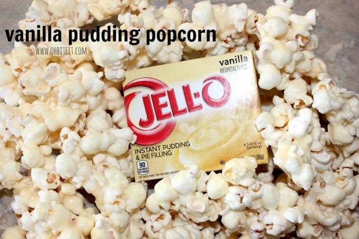 ~Vanilla Pudding Popcorn! | Oh Bite It