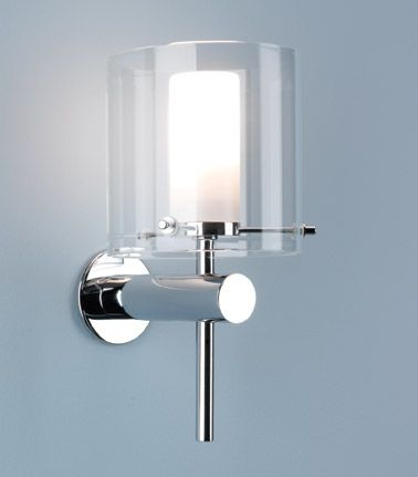 Buy this Astro Lighting Arezzo 0342 Bathroom Wall Light Polished Chrome Arm and Clear Outer Shade online from Sparks Direct at our low price of Archway. 10 Best ideas about Bathroom Wall Lights on Pinterest   Bathroom