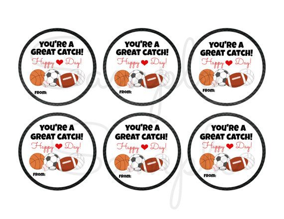 Instant Download Sports Great Catch By Lemonsqueezedesigns